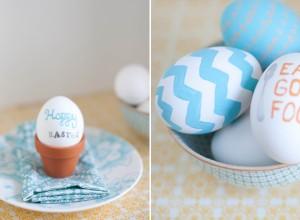 uova dipinte con scritta