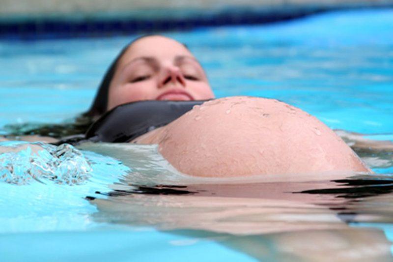 Acquagym in gravidanza