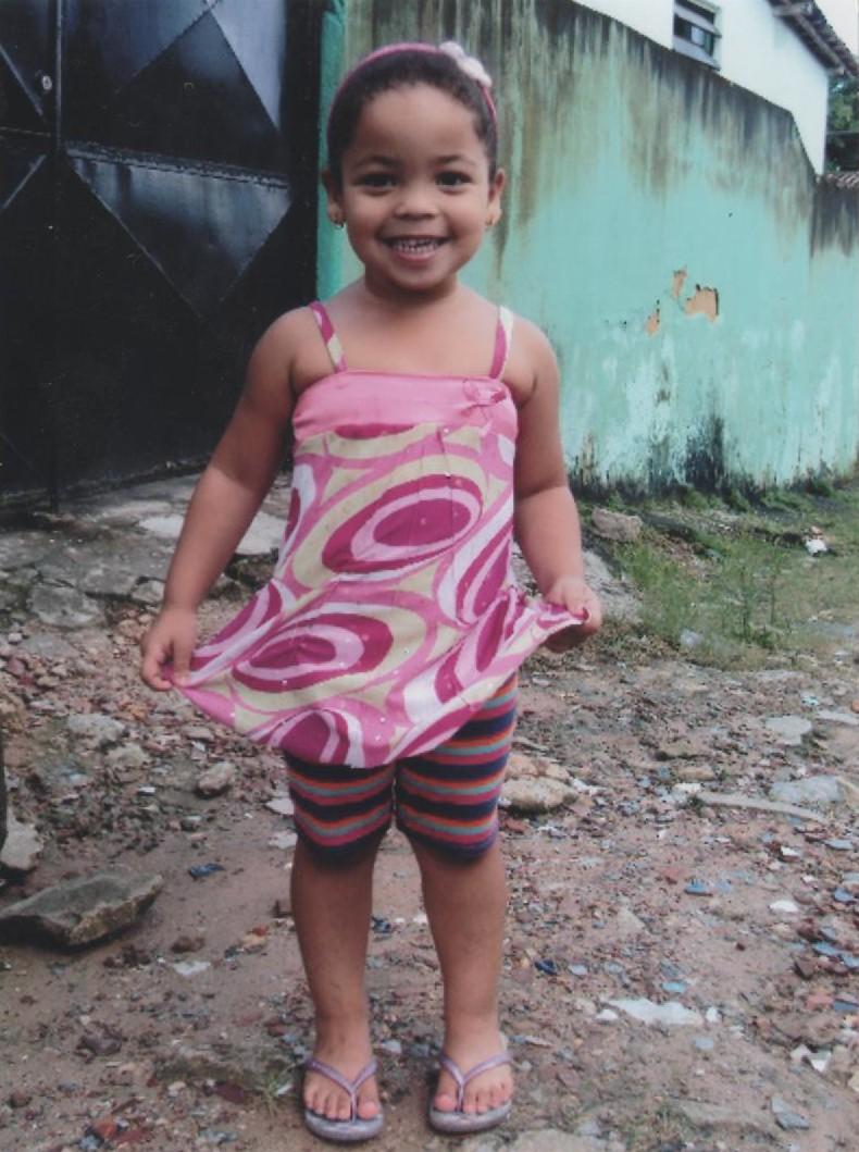 La mascotte di Blogmamma, Adrielle Elaine (Brasile)