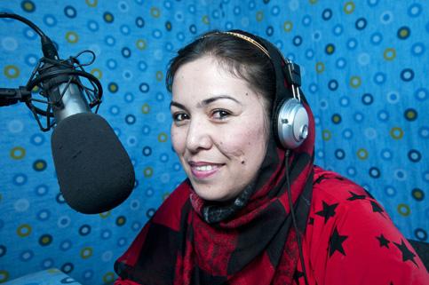 Mobina, Radio Afganistan