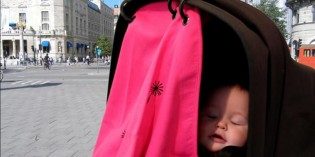 tendina parasole per passeggino