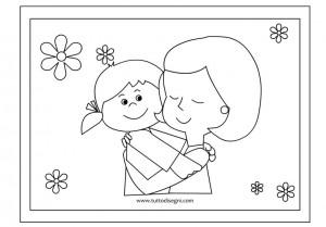 disegno abbraccio
