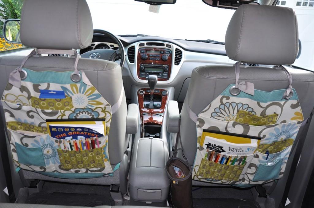 Viaggiare con i bambini accessori fai da te blogmamma for Accessori macchina