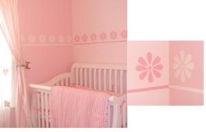Decorare la cameretta dei bambini con lo stencil - Tende camera bimba ...