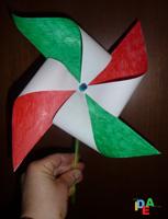 girandola tricolore