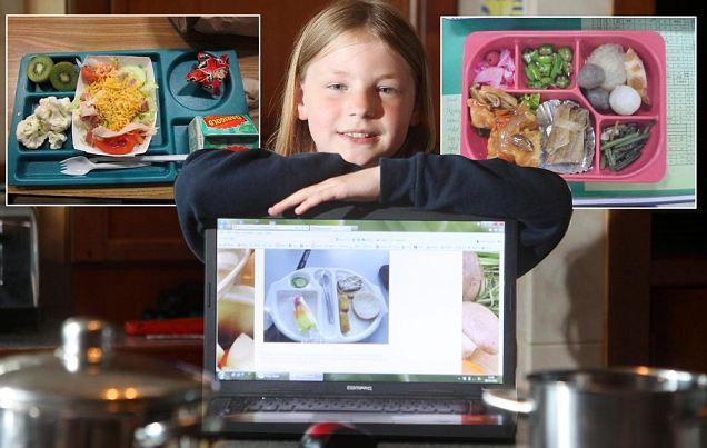 Martha Payne autrice del blog neverseconds rivoluziona cibo nelle mense scolastiche