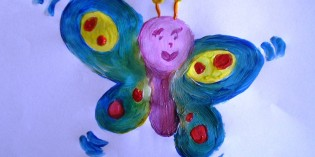 Tutorial: dipingere una farfalla con le tempere