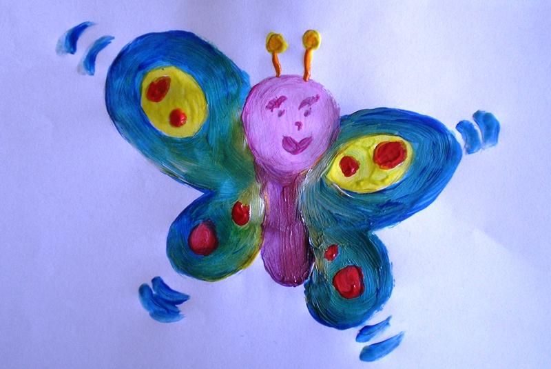 Tutorial Dipingere Una Farfalla Con Le Tempere Blogmammait
