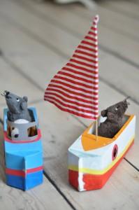 barca cartone