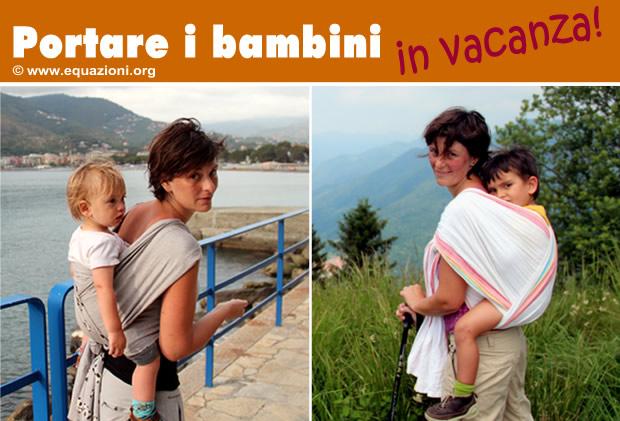 portare i bambini in vacanza