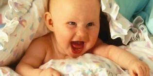 La prima risata del neonato