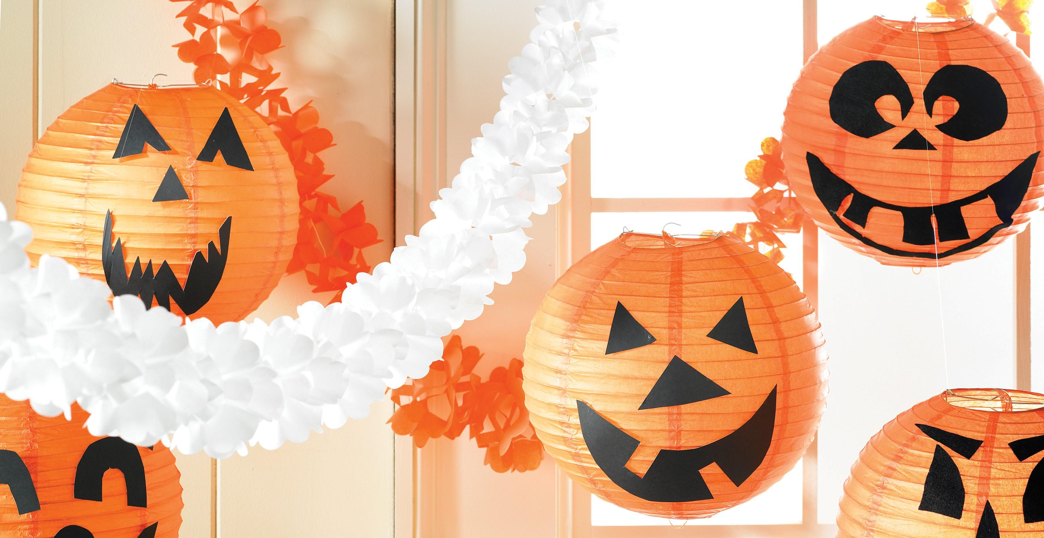 Decorazioni per un halloween party coi fiocchi blogmamma - Decorazioni halloween fatte in casa ...