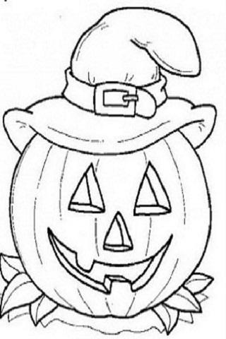 Halloween disegni zucca cappello - Disegni di zucche ...