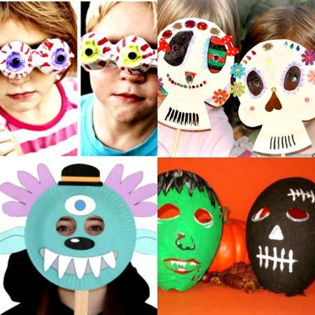 idee per maschere di halloween fai da te