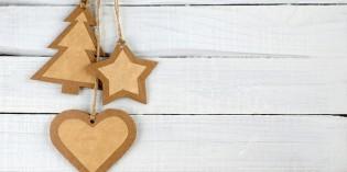 Lavoretti di Natale con la carta riciclata
