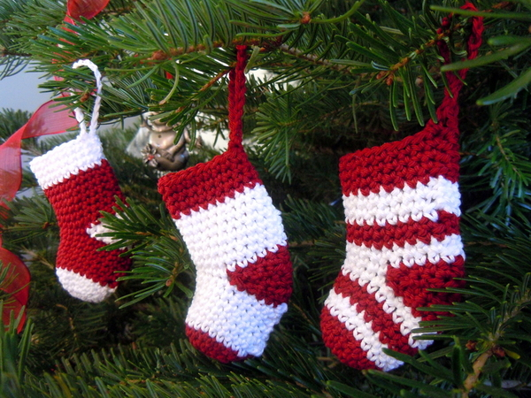 docorazioni natalizie ad uncinetto