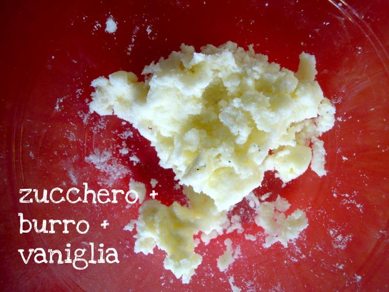 zucchero e burro
