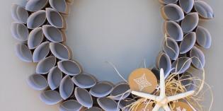 Decorazioni di Natale e riciclo creativo: le ghirlande