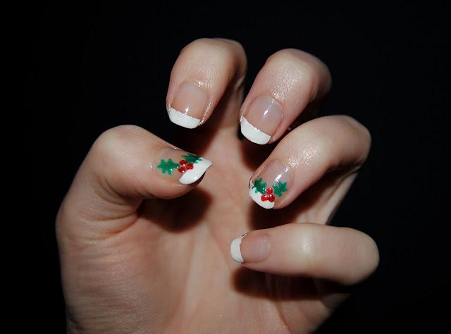 Unghie natale agrifoglio for Decorazioni natalizie unghie