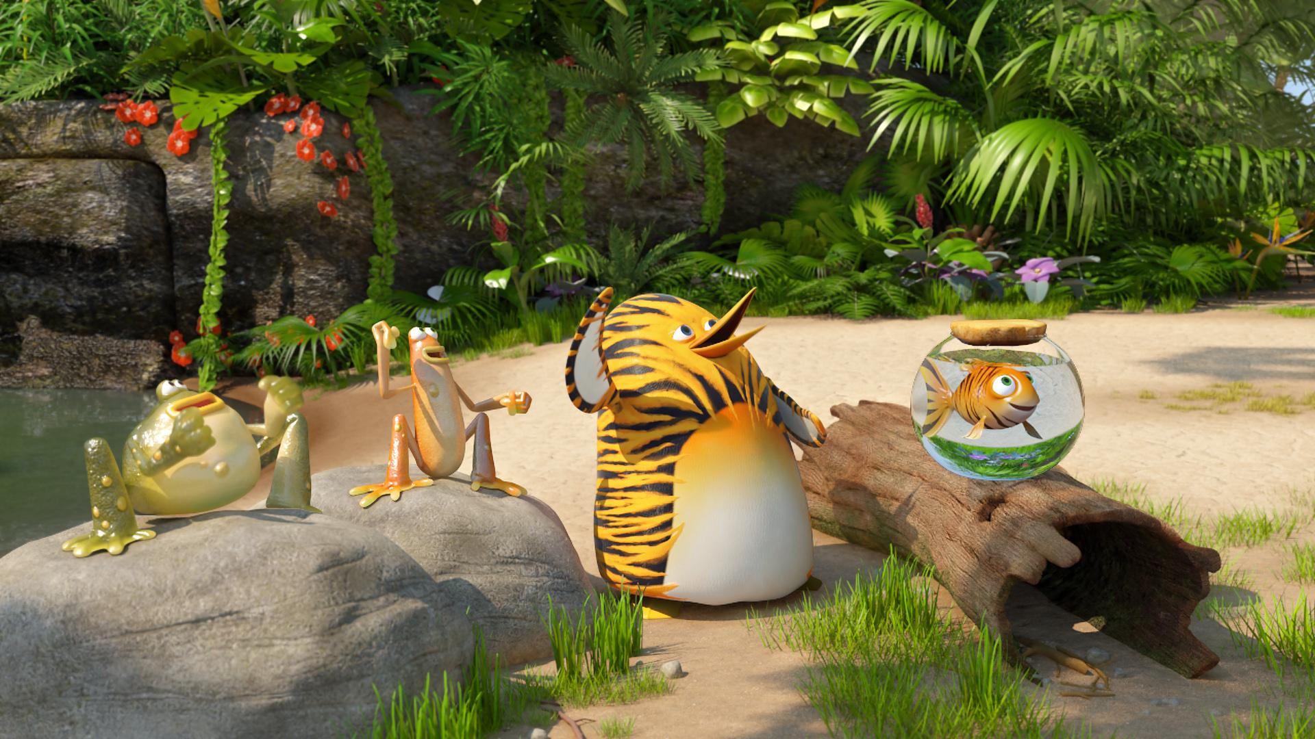 Film per bambini vita da giungla mamma