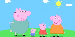 famiglia peppa pig