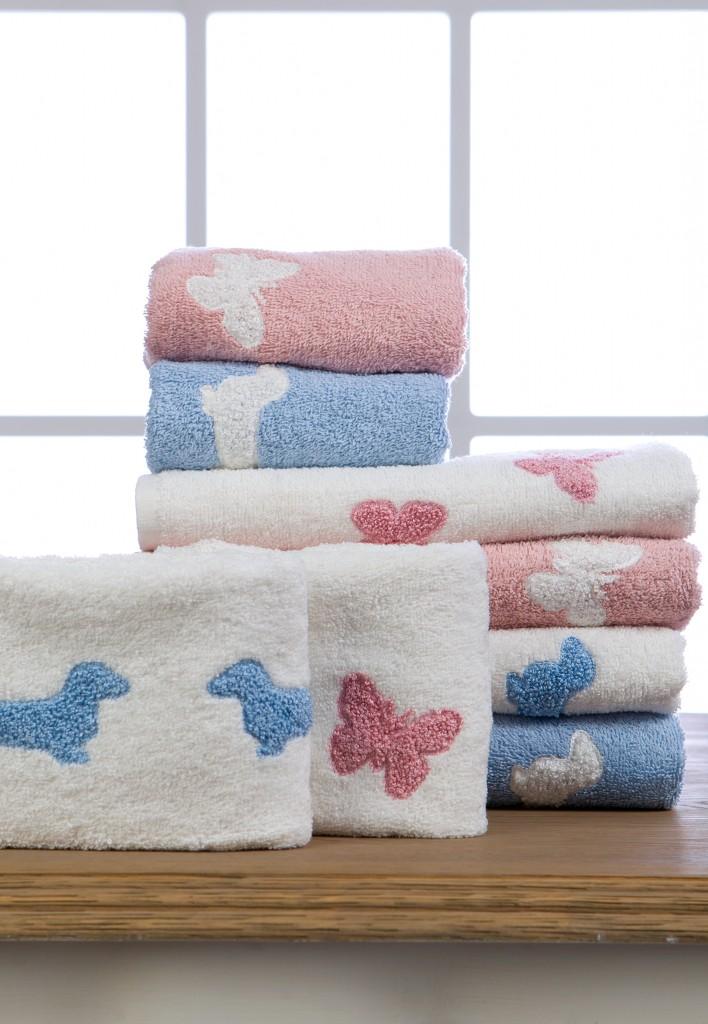 asciugamani-farfalla-bassotto