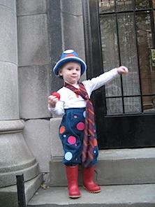 costume di carnevale da pagliaccio