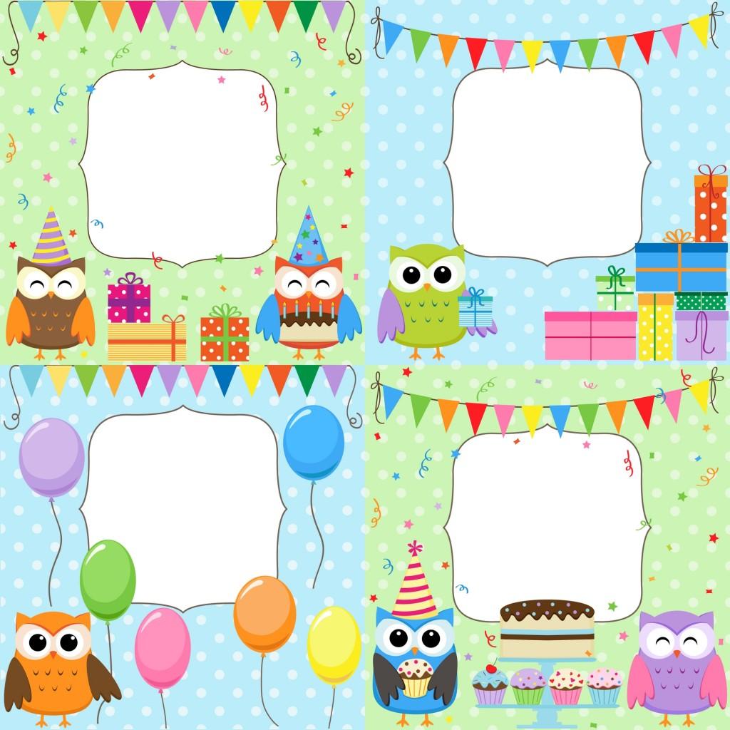 Inviti per feste di compleanno da stampare - Stampabili per bambini gratis ...