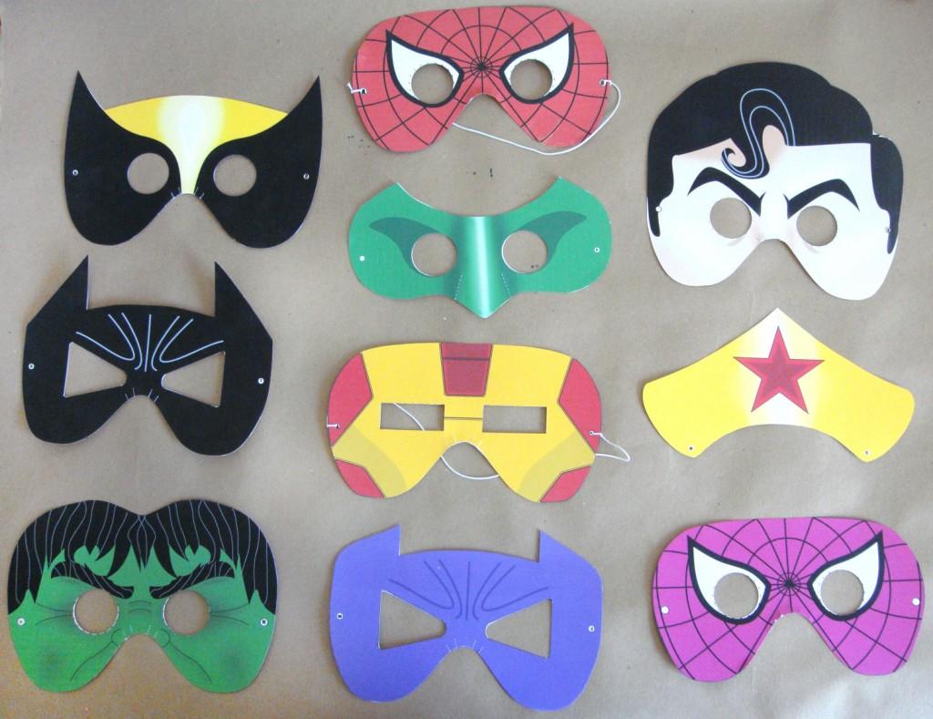maschere-super-eroi-stampare