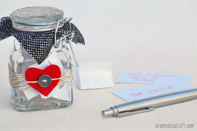 regalo san valentino vaso con messaggi