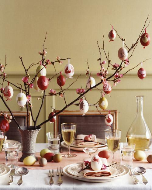 Decorazioni fai da te per la tavola di pasqua - Decorazioni per feste fai da te ...