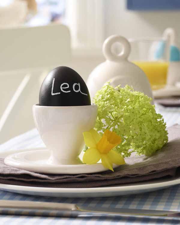 uovo segnaposto pasqua
