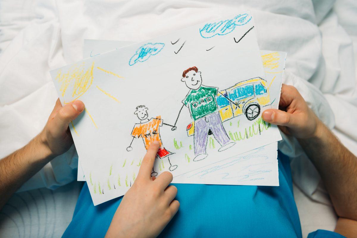 festa del papà disegni da colorare