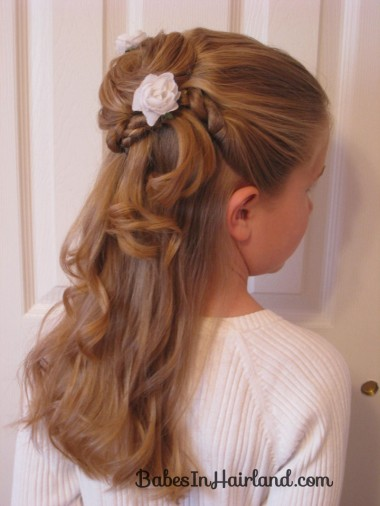 Favorito Acconciature per cerimonie: i capelli lunghi - Blogmamma.it  XJ14