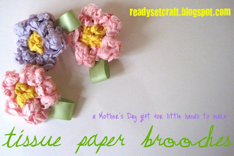 spille con fiori per festa della mamma