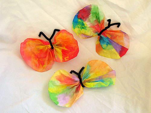 Lavoretti primavera farfalle for Lavoretti di primavera