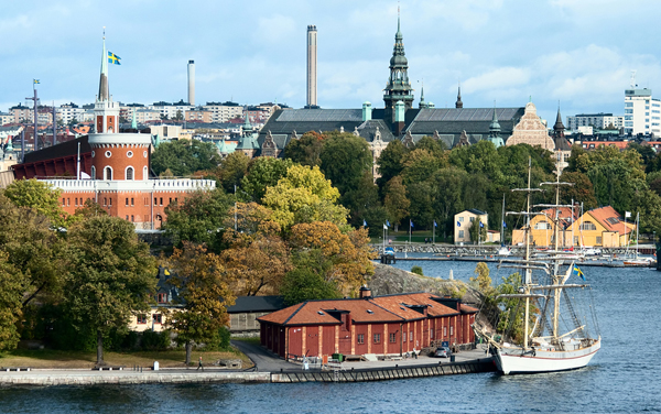 The view of Stockholm