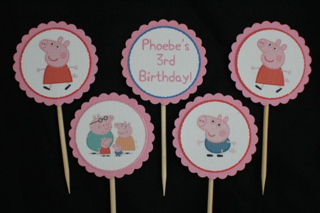 decorazioni per feste di compleanno a tema peppa pig
