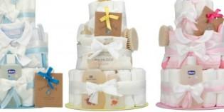 La torta di pannolini: una simpatica idea regalo per nascite e battesimi