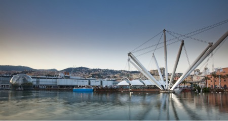 porto antico a Genova