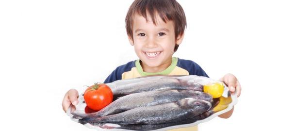 Pesce fresco per alimentazione sana