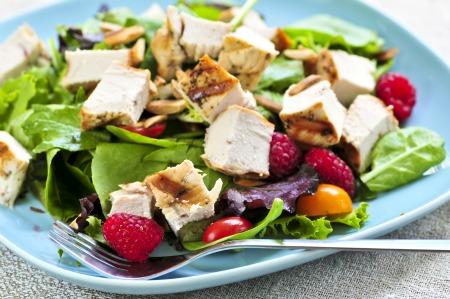 ricetta estiva, l'insalata di pollo