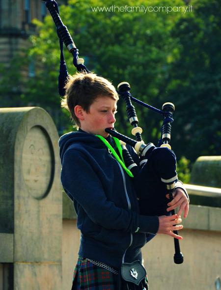 Viaggio a Edimburgo con bambino