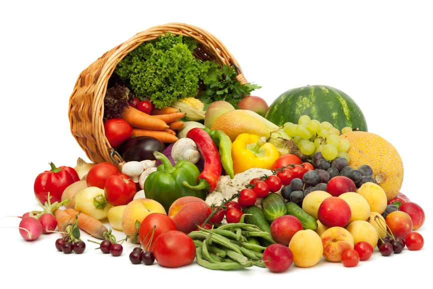 frutta fresca e verdura