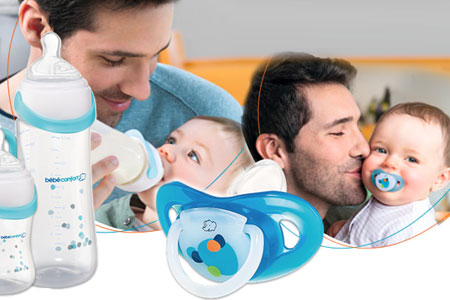 Biberon Easy Clip e succhietto Dental Safe di Bébé Confort