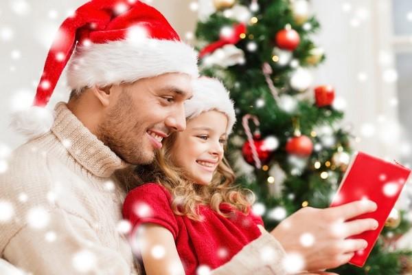 Libri come regalo di Natale per i bambin