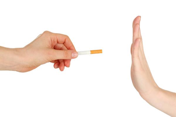 Smettere di fumare la riduzione di una dose