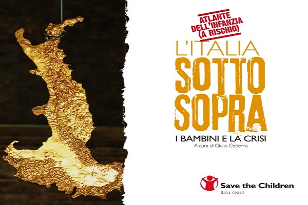 Copertina atlante 2013 - Save the Children
