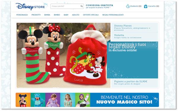 homepage personalizza