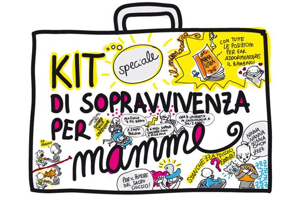 kit di sopravvivenza per mamme